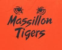1980s Massillon Tigers Football Orange  S/M