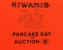 1980s Lake Wales Kiwanis Pancake Day Orange