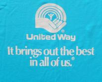 1990s United Way Southern Bell Blue  XL