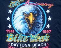 1990s Daytona Beach Bike Week Black  XL