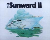 1980s MS Sunward II Cruise Ship Souvenir  XS