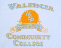 1990s Valencia Community College White L