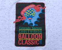 1996 Colorado Springs Hot Air Balloon White