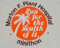 1980s Morton Plant Hospital Run Beige  M
