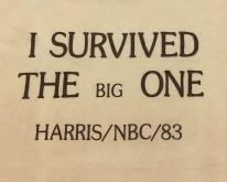 1980s I Survived the Big One Harris NBC 1983