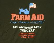 1995 Farm Aid 10th Anniversary Black Concert
