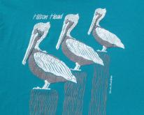 1980s Hilton Head Pelicans Souvenir  XL