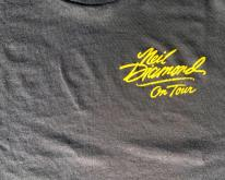1980s Black Neil Diamond On Tour Concert  M