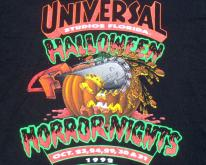 1992 Black Halloween Horror Nights Universal XL