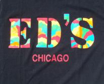 1990s Ed's Chicago Black Cotton  XL