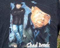 1990s Chad Brock Country Concert Tour Black