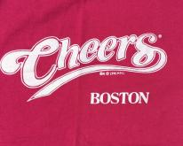 1980s Cheers of Boston Pink Souvenir  S