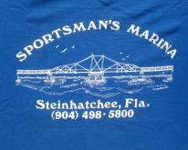 1980s Sportsman Marina Steinhatchee Florida