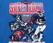 1990 Superbowl XXV NFL Football Sweat  L