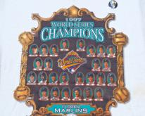 1990s Florida Marlins World Series Champs  XL