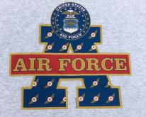 1990s U.S. Air Force Heather Gray  XL