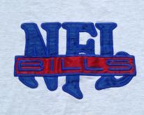 1990s Buffalo Bills NFL Sewn On Logo  M