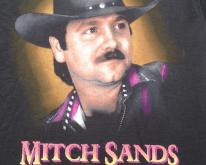 Vintage  1990s Mitch Sands Country Music Concert T-Shirt L