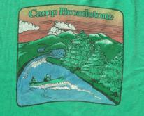 1980s Camp Broadstone Green Cotton  XL