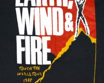 1980s EARTH WIND & FIRE Concert Tour 1988  DS