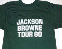 1980 Jackson Browne Hold Out Baseball Tour