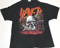 1988 SLAYER World Sacrifice Tour  80s