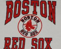 1980's Boston Red Sox Logo MLB Baseball