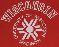 1980s University of Wisconsin Red College