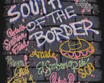 1980s South of the Border Graffiti Black 80s