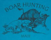 1980s Maui Hawaii Boar Hunting