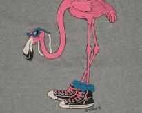 1980s Nags Head North Carolina Flamingo Bird