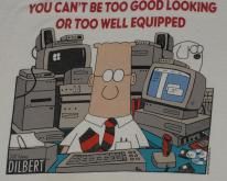1990's DILBERT Office Comic Strip Cartoon