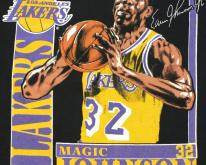 Magic Johnson LA Lakers NBA Basketball