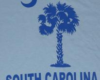 1980s South Carolina Palm Tree  Deadstock