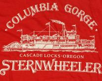 1980s Columbia Gorge Cascade Oregon Steamboat