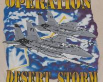 Operation Desert Storm US Air Force Jet