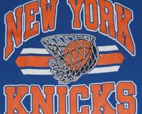 1980s New York Knicks NBA Basketball Blue
