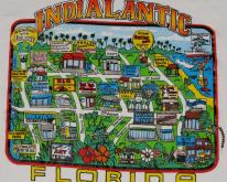 Indialantic Florida Cartoon Travel
