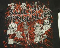 Vintage 80's Suicidal Tendencies Punk Rock Skater T-Shirt