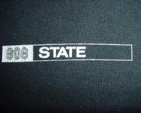 808 State  Chest Logo L/XL