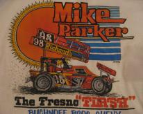 Mike Parker Fresno Flash San Jose Speedway  M