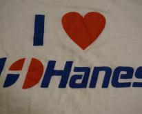 I LOVE HANES raglan jersey  L/M