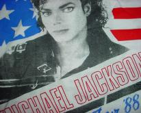 Michael Jackson Bad  Euro Tour RARE XL SIZE!