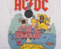 ACDC MTV BEAVIS & BUTTHEAD TOUR  96 XL 90S
