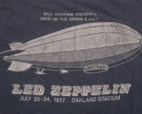 VINTAGE ORIGINAL LED ZEPPELIN T-SHIRT 1977 DAY ON THE GREEN