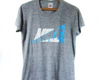 Nike T 80s Threadbare Thin Heather Grey - Mens