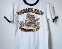 1970s Offensive World's Fair T Ringer Small