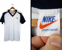 80s Nike Raglan T Orange Tag Deadstock