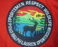 Vintage Polo Ralph Lauren Sportsmen Respect Wildlife T-Shirt