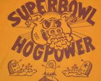 RARE  80s Super Bowl XVII HOG POWER Redskins